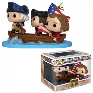 Funko POP! Icons: American History - Washington Crossing the Delaware (Target)