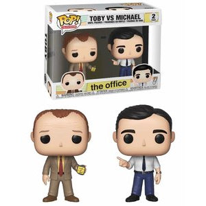 Funko POP! Television: The Office - Toby VS Michael 2 Pack