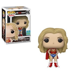 Funko POP! Television: The Big Bang Theory - Penny As Wonder Woman (2019 Summer Convention)
