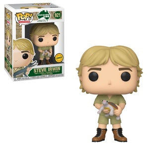 Funko Pop! Television: Australia Zoo - Steve Irwin (CHASE) (Damaged Box)