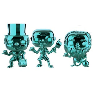 Funko POP! The Haunted Mansion: Phineas, Ezra, Gus 3-Pack (TARGET)