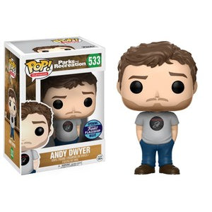 Funko POP! Television: Parks And Recreation - Andy Dwyer(Fugitive Toys)