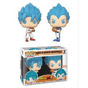 Funko POP! Animation: Goku & Vegeta (Baseball) (Box Lunch)