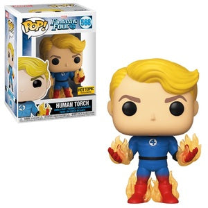 Funko POP! Marvel: Fantastic Four - Human Torch (Hot Topic)