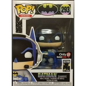 Funko POP! Heroes: Batman [Gamer] (Game Stop)