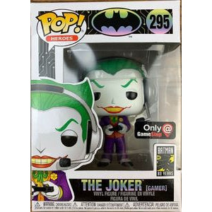Funko POP! Heroes: The Joker (Gamer) (Game Stop)