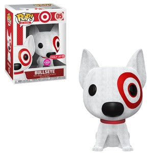 Funko POP! Ad Icons: Bullseye [Red Collar](Flocked) (Target)