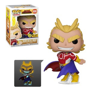 Funko POP! Animation: My Hero Academia - Silver Age All Might (Hot Topic)