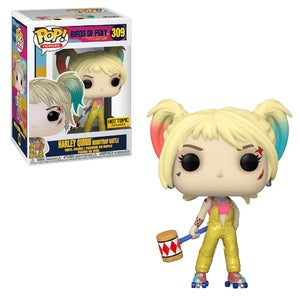 Funko POP! Heroes: Birds Of Prey - Harley Quinn [Boobytrap Battle] (Hot Topic)