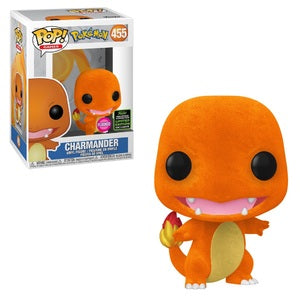 Funko POP! Games: Pokemon - Charmander (Flocked) (ECCC/Shared)