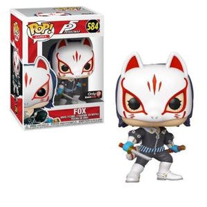 Funko POP! Games: P5 Personas - Fox (Game Stop)