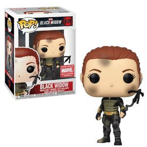 Funko POP! Marvel: Black Widow [Bloodied] (Collector Corps)
