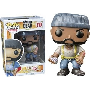 Funko POP! Television: The Walking Dead - Tyreese (Hot Topic)(Damaged Box)