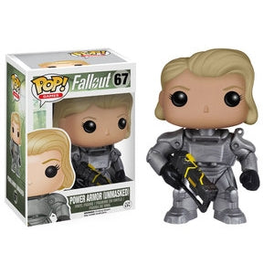 Funko POP! Games: Fallout - Power Armor (Unmasked) (Game Stop)