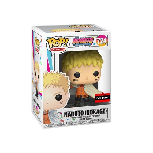 Funko POP! Animation: Boruto: Naruto Next Generations - Naruto Hokage (AAA Exclusive)