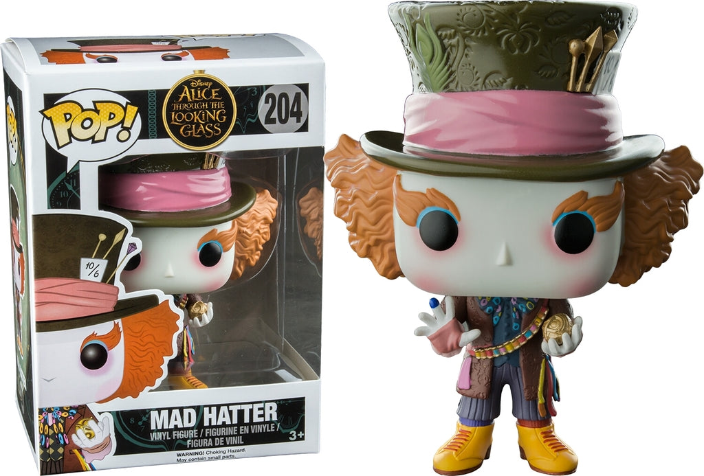 Funko POP! Alice Through The Looking Glass-Mad Hatter (Hot Topic)