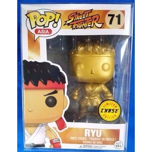 Funko POP! Asia: Street Fighter - Ryu (Chase)