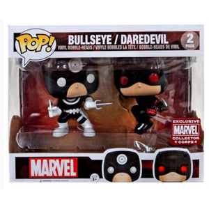 Funko POP! Marvel: Bullseye/ Daredevil 2 pack (Marvel Collector Corps)