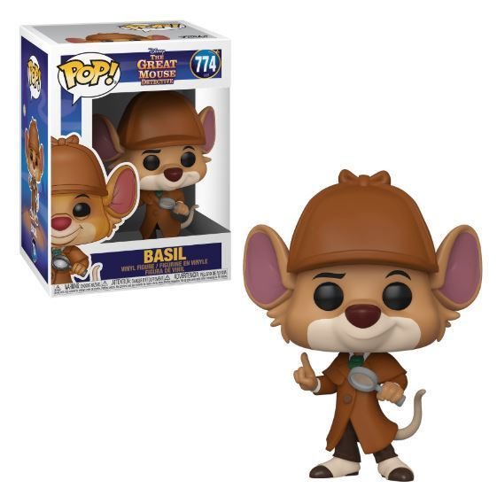 Funko POP! Disney: The Great Mouse Detective - Basil