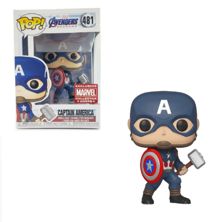 Funko POP! Marvel: Avengers Endgame - Captain America (Marvel Collector Corps)