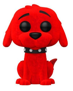 Funko POP! Books: Clifford The Big Red Dog - Clifford (Flocked)(Hot Topic)