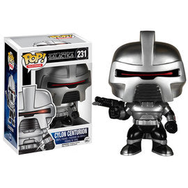 Funko POP! Television: Battlestar Galactica - Cylon Centurion (Damaged Box)