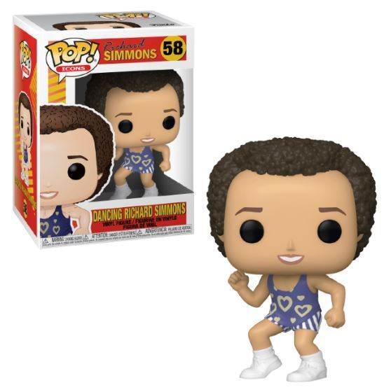 Funko POP! Icons: Richard Simmons - Dancing Richard Simmons