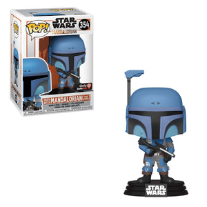 Funko POP! Star Wars: The Mandalorian - Death Watch Mandalorian (Two Stripes)(GameStop)