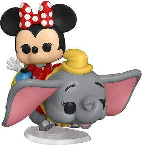 Funko POP! Rides: Disneyland Resort 65th. Anniversary - Dumbo The Flying Elephant Attraction & Minnie Mouse