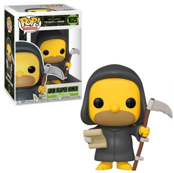 Funko POP! Television: The Simpsons Treehouse of Horror - Grim Reaper Homer