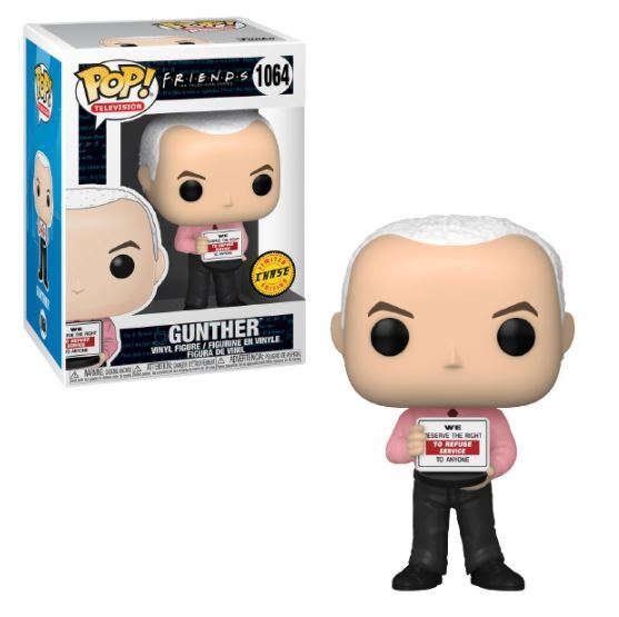Funko POP! Television: Friends - Gunther (Chase)