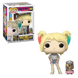 Funko POP! Heroes: Birds of Prey - Harley Quinn & Beaver