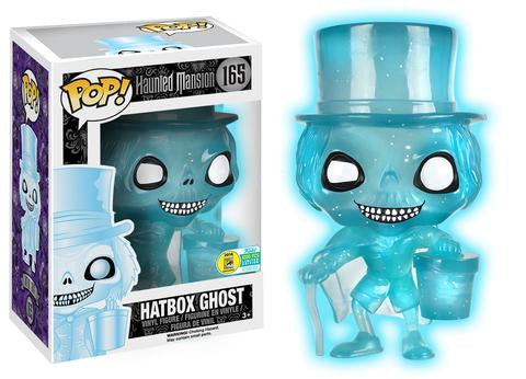 Funko POP! The Haunted Mansion: Hatbox Ghost (GITD)(SDCC16)
