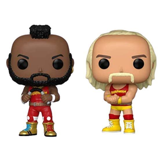 Funko POP! WWE: Hulk Hogan and MR. T [2 Pack] (Amazon)