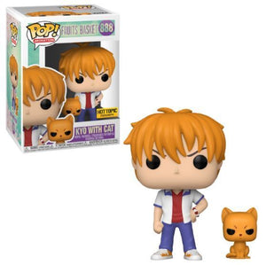 Funko POP! Animation: Fruits Basket - Kyo With Cat (Hot Topic)