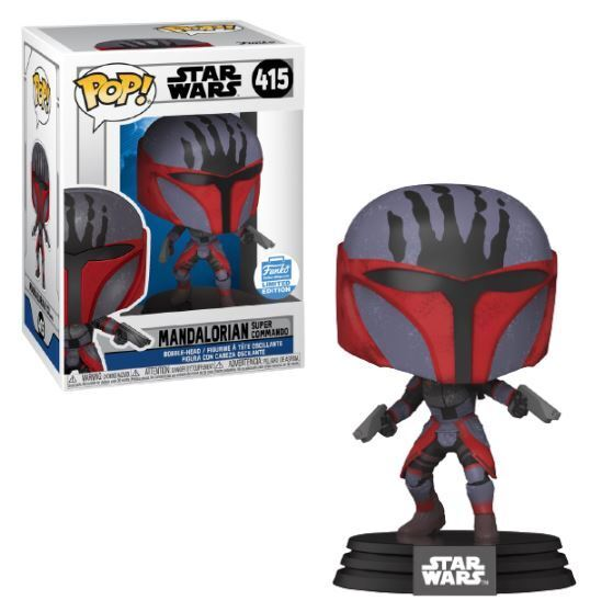 Funko POP! Star Wars: Mandalorian Super Commando (Funko)
