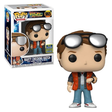 Funko POP! Movies: Back To The Future - Marty Checking Watch (2020 SDCC/Shared)