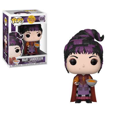 Funko POP! Hocus Pocus - Mary Sanderson [With Cheese Puffs]