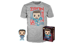 POP! Collector's Box: Tony Stark - Avengers Endgame POP! & T-Shirt