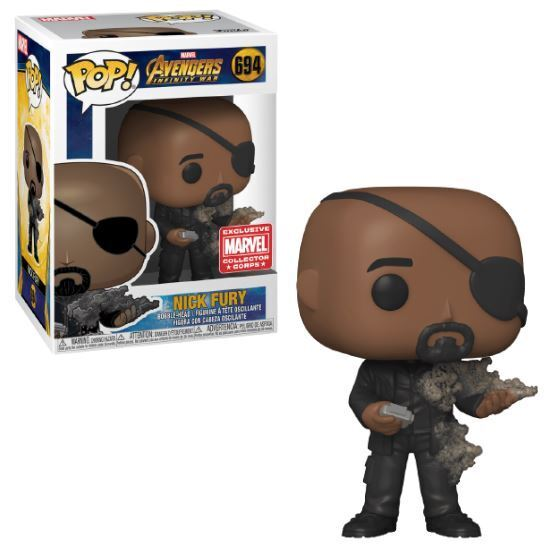 Funko POP! Marvel Avengers Infinity War: Nick Fury (Marvel Corps)