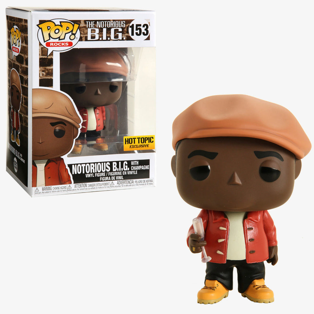Funko POP! Rocks: The Notorious B.I.G (Hot Topic)