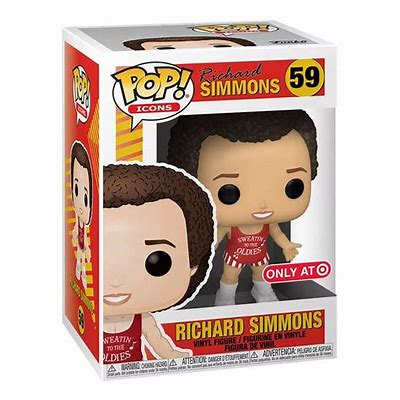 Funko POP! Icons: Richard Simmons (Target)