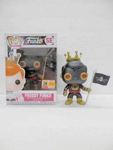 Funko POP! Freddy Funko Space Robot (Black)