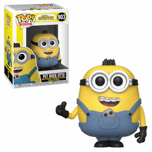 Funko POP! Movies: Minions The Rise Of Gru - Pet Rock Otto