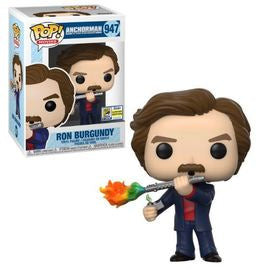 Funko POP! Movies: Anchorman - Ron Burgundy(2020 SDCC)