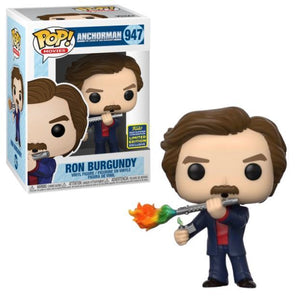 Funko POP! Movies: Anchorman - Ron Burgundy(SDCC20/Shared)