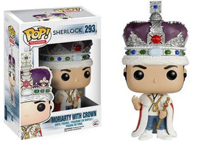 Funko POP! Television: Sherlock - Moriarty w/ Crown