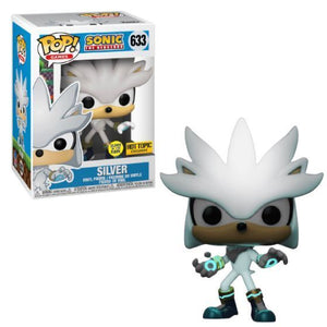 Funko POP! Games: Sonic The Hedgehog - Silver (GiTD)(Hot Topic)