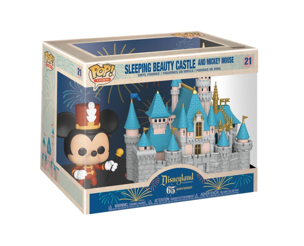 Funko POP! Town: Disneyland 65th Anniversary - Sleeping Beauty Castle And Mickey Mouse