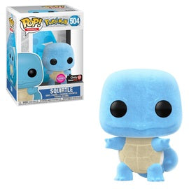 Funko POP! Games: Pokemon - Squirtle (Flocked) (Game Stop)